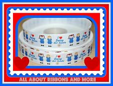 7/8 INCH GIRL SCOUT DAISY  GROSGRAIN RIBBON- 1 YARD