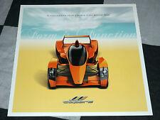 2006 Caparo T1 3.5 V8 SALES BROCHURE PROSPEKT panoramica GORDON Murray F1 P1 RARA