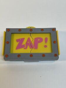 Teenage Mutant Ninja Turtles 1989 SHREDDER Character ZAP Clip-On Toy Burger King