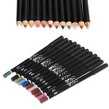 12 Color Waterproof Eye Shadow Eyeliner Lip Liner Pencil Pen Cosmetic Makeup Set
