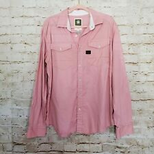 G-Star Raw Raw Cargo Line Men's Button Front Long Sleeve Shirt sz XXL