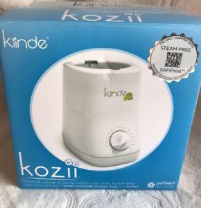 Kiinde Kozii Bottle Warmer and Breast Milk Warmer, Safe Heat ~ NEW -