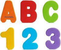 Munchkin Juego De 36 Hora Del Baño Espuma Cartas Y Números Aprendizaje Diversión