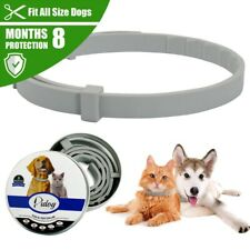 Natural Flea and Tick Collar Pet Cats Small Dogs 8 Months Control Protection