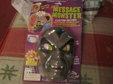 Message Monster electronic talking head Halloween NEW IN PACKAGE