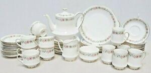 PARAGON Belinda 61 Piece DINNER TEA COFFEE Set Cups,Saucers,Plates,Jug - 250