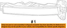 Dodge CHRYSLER OEM 15-18 Charger-Fog Light-Fog Lamp 68214427AB
