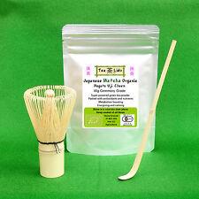 Matcha CERIMONIA Set, Uji Matcha, WHISK e SCOOP. organico giapponese Tè Verde