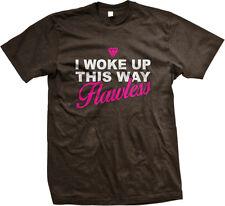 I Woke Up This Way Flawless Pink Diamond Song Lyrics Beauty Swag Men's T-Shirt