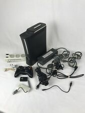 XBOX 360 Black Console with Controller, Headset, cooling system and more! TESTED