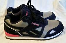 Reebok Women's Work Shoes Sz. 11M Prelaris Max Trax RB978 Blue Gray Pink EUC