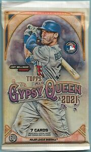 2021 Topps Gypsy Queen Baseball FACTORY SEALED PACK (7cards) **MINT CONDITION**