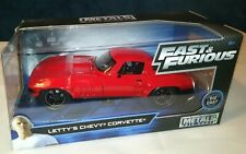 Jada Fast and Furious Letty's Chevy Corvette 1:24, 1/24 Diecast Model.