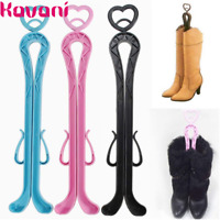 Plastic Long Boots Supporter Holder Organizer Shaft Shaper Storage Hanger Shoes