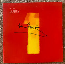 Paul McCartney Beatles Signed 1 One LP Frank Caiazzo Certified