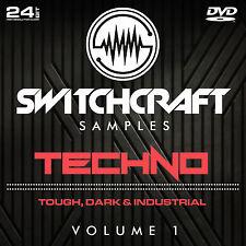 TECHNO VOL 1 - 24BIT WAV STUDIO / MUSIC PRODUCTION SAMPLES - DVD