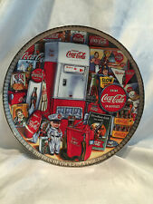 1996 The Eras of Coca Cola 1950-1960 Numbered Edition Collectors Plate #3708
