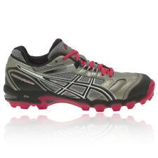 ASICS Womens GEL-HOCKEY TYPHOON Silver 3M Sports Hockey Astro Turf Boots Shoes
