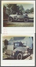 Vintage Kodamatic Kodak Instant Photos Shay Model A Ford Car 729954