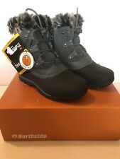 Northside Fairfield Snow Boot, Charcoal, Womens 7 Thinsulate Warm Waterproof