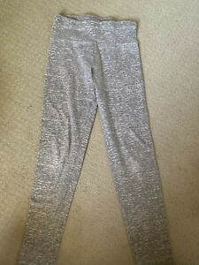 Justice Leggings Size 10 Gray EUC