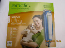 Andis Pet/Dog Grooming Easy Clip Ultra Clipper Kit 10PC