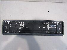 BMW MINI COOPER NUMBER PLATE HOLDER BRACKET P/N: 9310156 .2 REF 08OG47