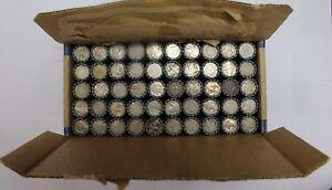 SEALED $100 FV Buffalo & Liberty V Nickel Box Lot 50 Roll Mixed Rolls US Nickels