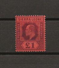 SIERRA LEONE 1904/5 SG 98 MINT Cat £300