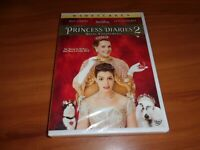 The Princess Diaries 2: Royal Engagement (DVD, 2004, Widescreen) NEW