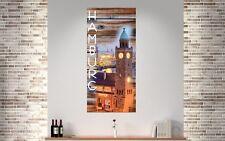 Wechselscheibe LP81 Hamburg Wechselbild 56x26cm passend für IKEA Lampe Gyllen