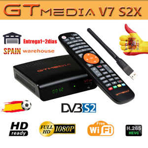 GTMedia V7 S2X(NEW VERSIÓN V7S)Satellite TV Receiver DVB-S/S2/S2X USB WIFI 1080P
