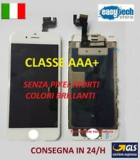 DISPLAY LCD iPhone 6S Assemblato COMPLETO Fotocamera Front  Altoparlante BIANCO