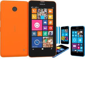 "Nokia Lumia 635 Windows 4.5"" Original Quad Core 8GB ROM 5MP 3G LTE GPS Unlocked"