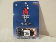 Dale Earnhardt Atlanta 1996 Olympics 1:64 Die-cast Race Car NASCAR SPORTS IMAGE