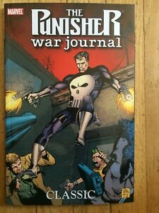 Punisher War Journal Classic Vol 1 by Carl Potts & Jim Lee 1988 Issues 1 - 8 OOP