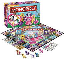MY LITTLE PONY MONOPOLY GAME includes 6 COLLECTIBLE PONY TOKENS *FREE BONUS