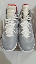 Nike Air Shox Hyperballer 454154-001 Mens Size 15 Shoes Grey White Red