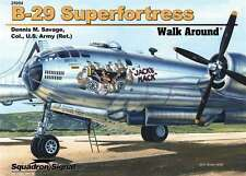 SQ25054 SQUADRON SIGNAL B-29 SUPERFORTRESS WALK AROUND (SoftCover)
