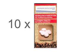 100 x limpieza para cafeteras automáticas Espresso tabletas