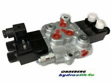 Hydraulikventil Ventil 2-fach 2 X DW Kreuzhebel 50 L/min 350 bar