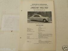J04--JAGUAR 3,5 LITER MARK VII M 1955-1957 ,TECHNICAL INFO CAR VINTAGE OLDTIMER