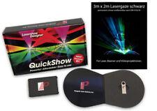 Pangolin Quickshow 5.1 Lasershowsoftware mit FB3 Interface und 3m x 2m Lasergaze