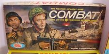 COMBAT! THE FIGHTING INFANTRY GAME WAR TV SHOW BOXED COMPLETE IDEAL