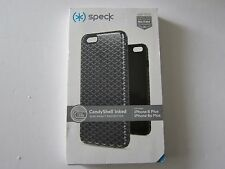 Speck Products CandyShell Inked Case iPhone 6/6S Plus Charcoal Black New