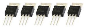 5 x FQP30N06L 60V Logic Level N-Channel Enhancement Power MOSFET TO-220