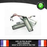 LED Plaque Immatriculation VW GOLF 4 5 6 7 GTI GTD R TDI TSI ANTI ERREUR CANBUS