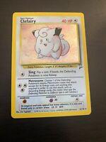 Pokemon Card - Clefairy - (6/130) Base Set 2 Rare Holo ***NM-MINT***
