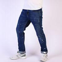 Levi's 511 Slim Fit Dark Blau Paint Splatter Jeans 31/30 W31 L30