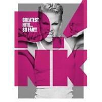 PINK GREATEST HITS SO FAR DVD REGION 0 PAL NEW